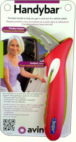 handybar portable handle for the car